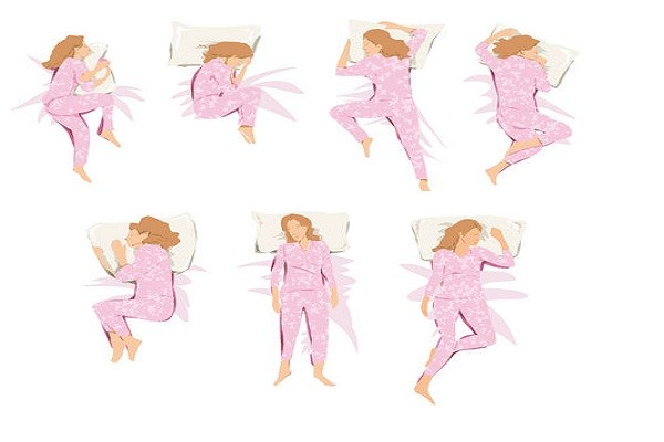 Sleeping Positions Women
