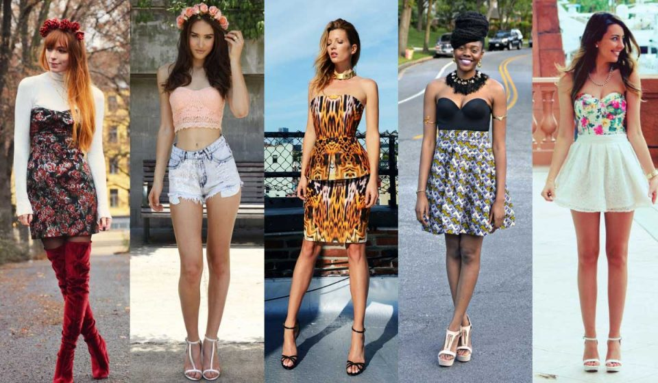 Bustier fashion trend
