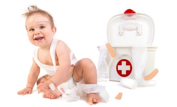 Making a First Aid Kit for Baby