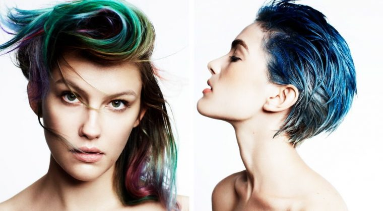 Multi-Chromatic Hair Color