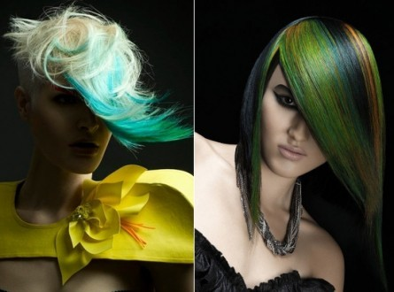 Multi-Chromatic Hair Color Ideas