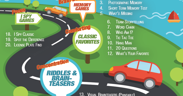 9 Games for Long Car Rides with Kids
