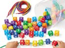 4 Interesting Crafts Children Can Make With Alphabet Beads