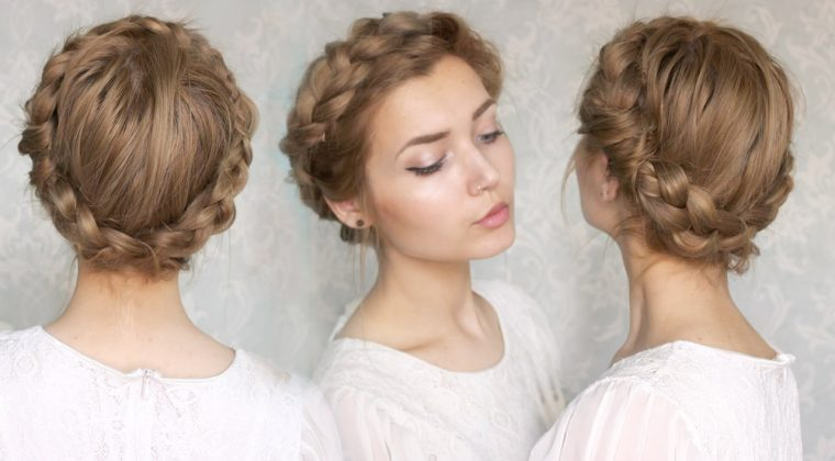 Halo Braid Hairstyle