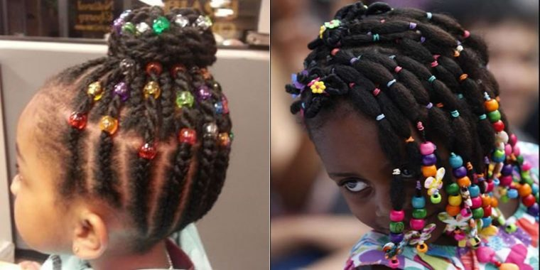 Little Black Girls Hairstyles for School