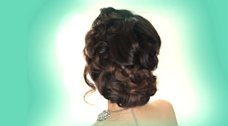 Winter Formal Hair Style