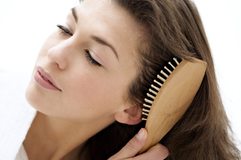 hair brushing tips