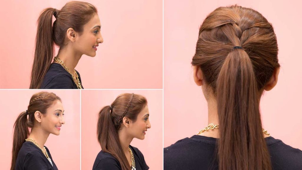 ponytail hairstyles for girls