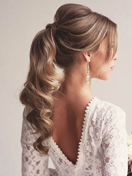 ponytail hairstyles for prom